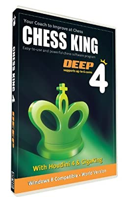 Chess King 4 Deep with Houdini 4 Chess Software (New for 2014)