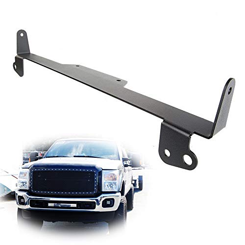 iJDMTOY 20-22 Inches Straight LED Light Bar Lower Bumper Grill Opening Mounting Bracket For 2011-2016 Ford F-250 F-350 F-450