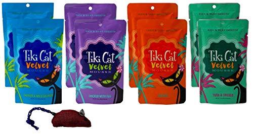 Tiki Cat Velvet Mousse Grain Free Cat Food 4 Flavor