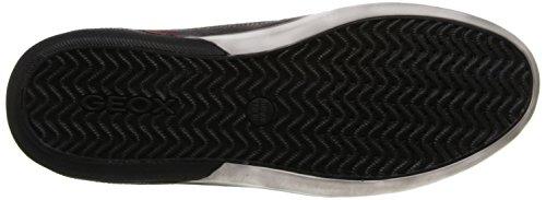 Geox U Box A - Suede U44r3a-00022 / C9005 Zapatos Bajos Para Hombres, Gris 45 Eu