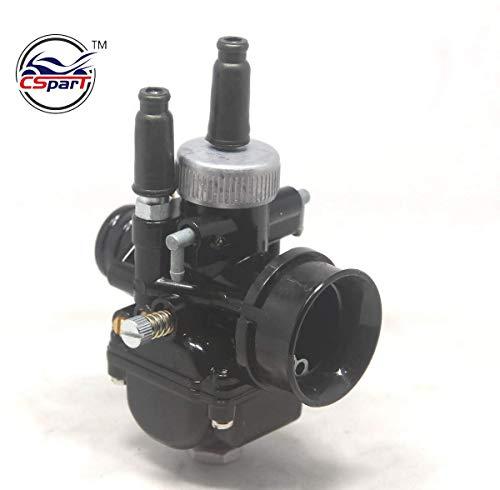 Sellify 17mm 19mm 21mm carburador Racing de Carb para el número de artículo Dellorto MPGF DS Negro Diámetro...