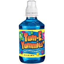 Tum-e Yummies Fruit Flavored Drink, Sour-sational Raspberry, 10 Oz (Pack of 12 Bottles)
