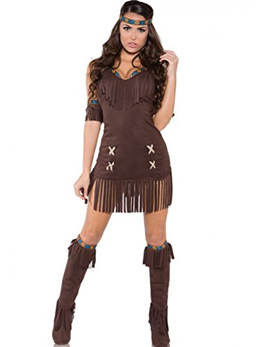 Underwraps Women's Raven, Brown, (Mommy And Me Costumes)