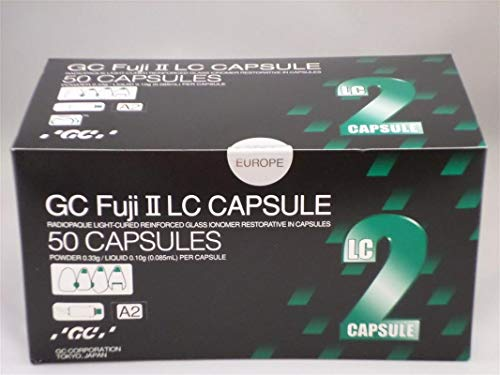 GC Corp. GC Fuji II LC Capsules A2-50/BX by GC Corp. (Image #1)