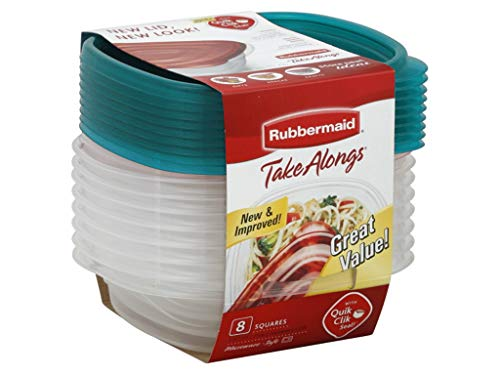 Rubbermaid TakeAlongs 2.9 Cup Sandwich Food Storage Containe