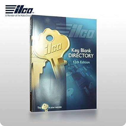 kaba ilco 12th edition key blank directory cross reference catalog rh amazon com Decorative Key Blanks Key Blank Chart