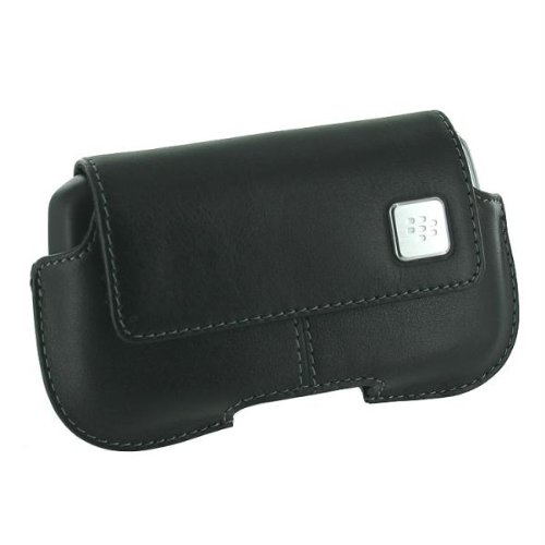 OEM BlackBerry Horizontal Leather Case for BlackBerry Curve 8900, Black HDW-18965-001