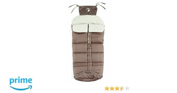 JANE Basic Stone - Saco para silla de paseo, unisex, color marrón: Amazon.es: Bebé