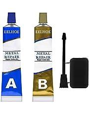 Metal Repair Paste Set AB Adhesive Gel Industrial Heat Resistance Cold Weld Wall Repairing Leakage Glue
