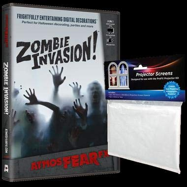 AtmosFEARfx - Zombie Invasion - Halloween Video Projection -