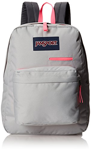 JanSport Unisex Digibreak Grey Rabbit Backpack