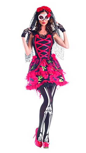 Day of the Dead Senorita Adult Costume - Small