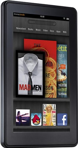 "Kindle Fire Wi-Fi, Full Color 7"" Multi-Touch Display"