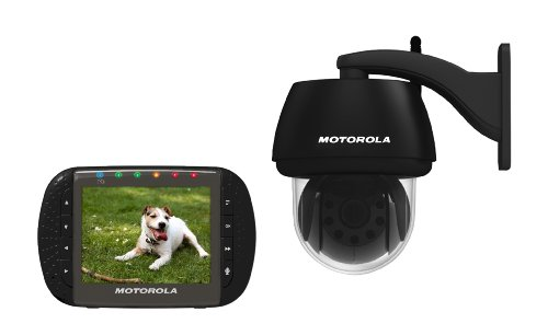 Motorola Scout1100 Remote Wireless Outdoor Video Children, Backyard or Pet Monitor with 3.5-Inch...