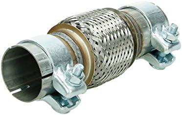 Giunto riparazione flessibile 56 x 100//200 mm 2x pinze flex pipe scarico nuovo