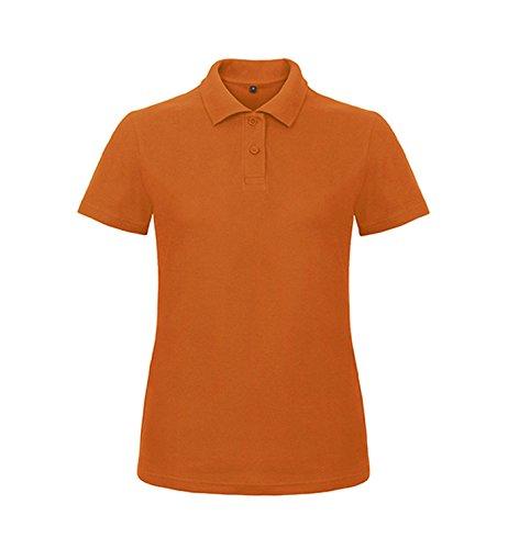 Polo ID.001 / Mujer Orange