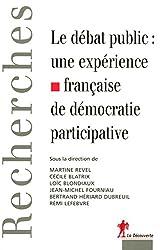 Le débat public : une expérience française de démocratie participative