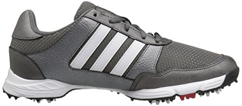 adidas Men's Tech Response Golf Shoe, Iron Metallic/White, 8.5 W US by adidas (Image #7)