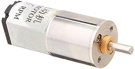 6 rpm DC 6V 0.45A High Torque mini elétrica Voltada Gearbox Motor