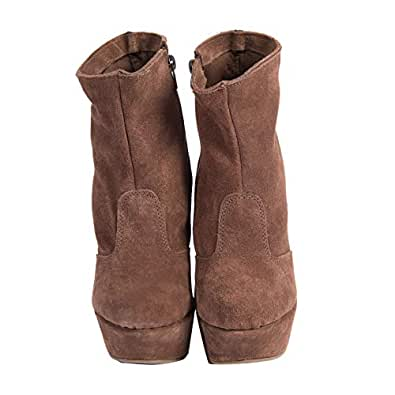 Galibelle Brown Clog Boot For Women