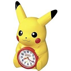 Seiko Pokemon Talking Pikachu Alarm Clock (Japanese Model) by Seiko