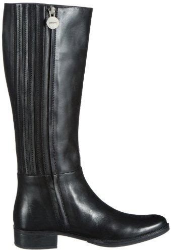 e482200c79188f Geox D Meldi P, Bottes Cavalières Femme: Amazon.fr: Chaussures et Sacs