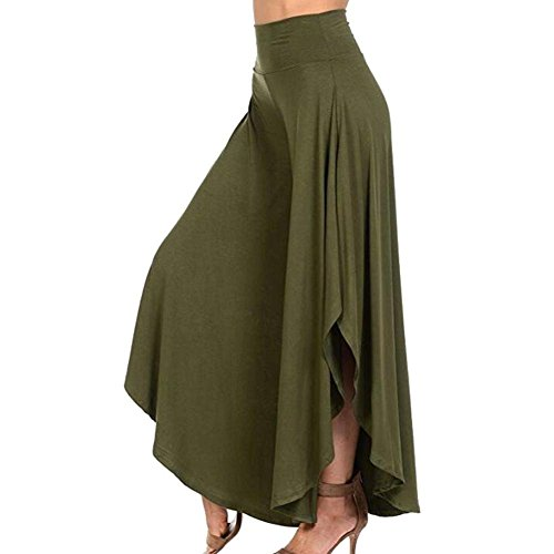 Palazzo Donna Colori Danza Estivi Cintura Style 2 Aladin Pantaloni Gonna High Pantaloni Elastica Relaxed Accogliente Harem Grün Pantaloni Elegante Waist Pantaloni Festa Pantaloni Pantaloni Solidi Ragazze C5XnxqZw