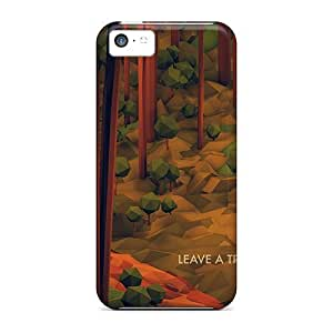 For Iphone Cases, High Quality Leave A Trail Forest Illustration For Iphone 5c Covers Cases wangjiang maoyi