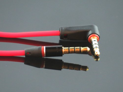 red replacement studio headphones male