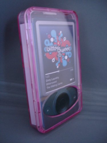 Zune 30 Crystal Gb (Crystal Case for 30GB Microsoft Zune - Pink)