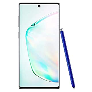 Samsung Galaxy Note 10 Factory Unlocked Cell Phone with 256GB (U.S. Warranty), Aura Glow (Silver) Note10