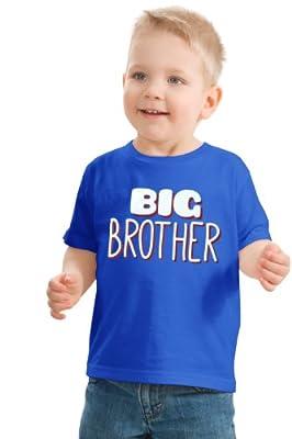"Ann Arbor T-shirt Co. Big Boys' ""BIG BROTHER""   Cute Boy's Youth T-shirt"