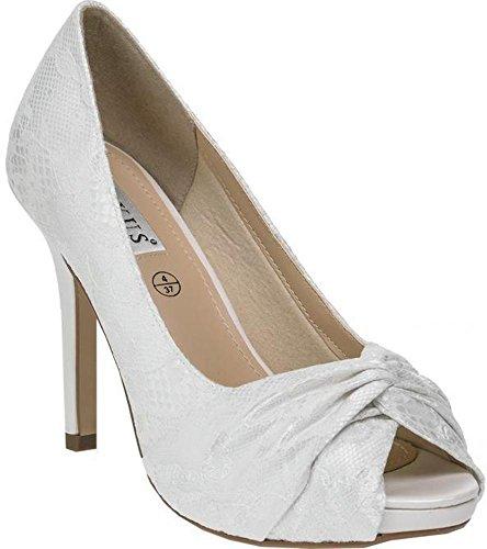 LEXUS Bridal Shoes - Court Shoes- Platform Heels - Jolene