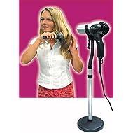 Hands Free Adjustable Hair Dryer Floor Holder Stand-as Seen on Tv