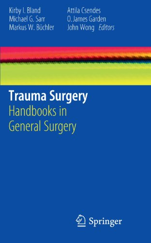 Trauma Surgery: Handbooks in General Surgery