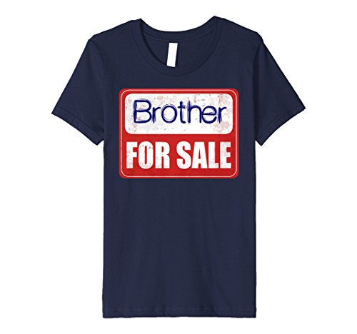 Kids Brother For Sale Brother Shirt 10 Navy