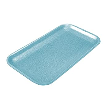 CKF 17sbl, # 17 años azul espuma carne bandejas, desechables estándar supermercado (Bundle