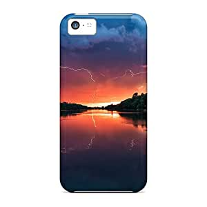 [Pvr32226swMn] - New Sunset Landscapes Protective Iphone 5c Classic Hardshell Cases