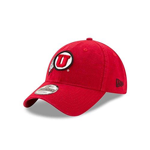(New Era Utah Utes Campus Classic Adjustable Hat - Team Color, One Size)