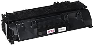 Premium Compatibles CF280A-RPC Replacement Ink and Toner Cartridge for Hewlett Packard Printers, Black