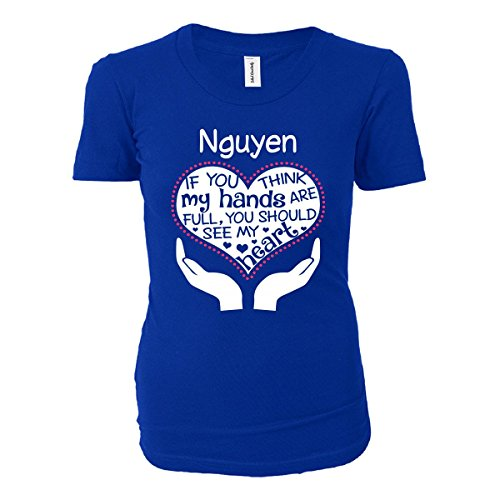 Heart Of A Nguyen. Awesome Gift - Ladies T-shirt