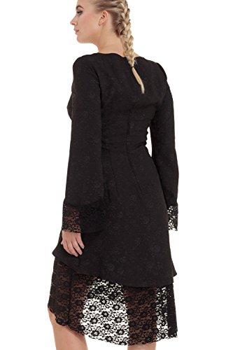 DRESS Jawbreaker Schwarz LOW 8260 Kleid HIGH qHCw6Z4