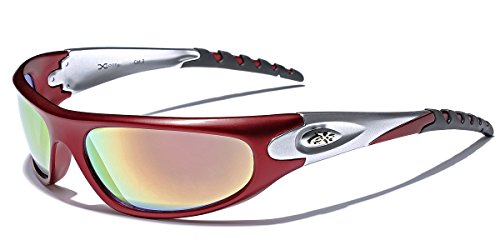 X-Loop Men's Sport Wrap Around Sunglasses ()