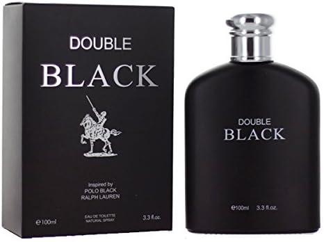 Double Black 3.3 Ounces Eau de Toilette Spray by Royal Fragrance ...