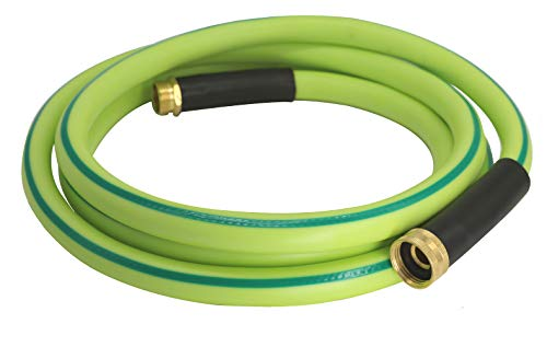 Atlantic Premium Hybrid Garden Hose 5/8 Inch 5 Feet, Light Weight and Coils Easily, Kink Resistant,Abrasion Resistant, Extreme All Weather Flexibility