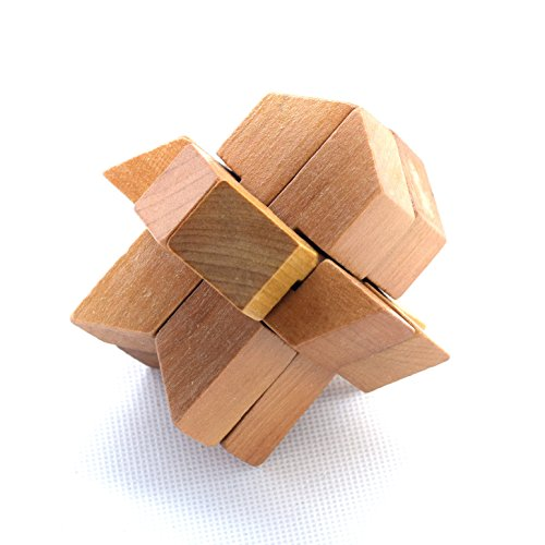Chen Han Wooden Space Shuttle Lock Rocket Locks Logic Puzzle Burr Puzzles Brain Teaser Intellectual Assembly Toy