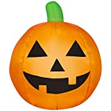 Halloween Pumpkin Airblown Inflatable Jack-O-Lantern 3 Feet
