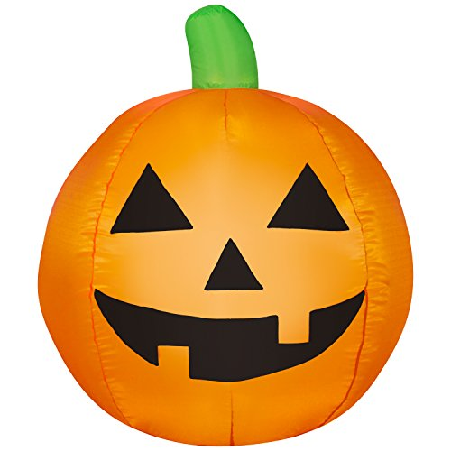 Halloween Pumpkin Airblown Inflatable Jack-O-Lantern 3 Feet (Halloween Inflatable Pumpkin)
