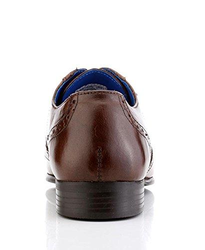 Red Tape , Chaussures de ville à lacets pour homme Marron marron
