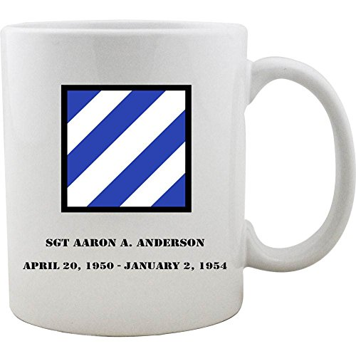Customizeable Army 3rd Infantry Division 11oz. Coffee Mug